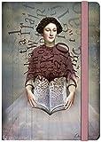 moses. Notizbuch Illustration Storybook | Auch als Tagebuch geeignet | Din A5 | Liniert | 160 Seiten