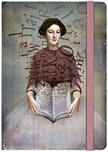 moses. Notizbuch Illustration Storybook   Auch als Tagebuch geeignet   Din A5   Liniert   160 Seiten (Rosa Journal Linierte Seiten)