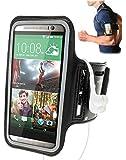 Black Protective Gym Running Cycling Jogging Sport Armband Case for Huawei Ascend Y300 & P6 & W2 &Y511 & Y530 & Y320 & Y550 & Y330 & P7 mini & P7 Smartphone