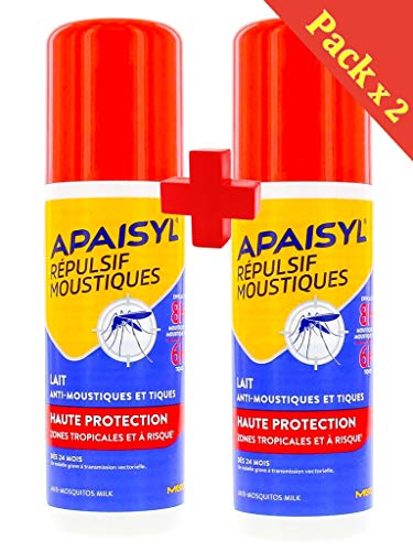 Apaisyl-antimosquitos alta protección repelente mosquitos alta protección 2x 90ml