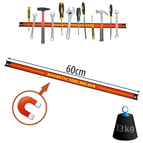 60cm Magnetleiste Magnet Werkzeughalter Werkzeugleiste Werkzeug Halterung SN3522