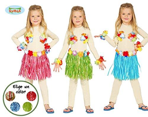 183 - Hawai-Set, Kinder (3 Stücke) (Lustige Halloween-kostüme Für Drei Mädchen)