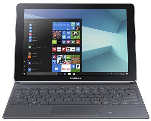 Price comparison product image Samsung Galaxy Book 10.6-inch Tablet (Silver/Black) - (Intel Core M3 2.6 GHz, 4 GB RAM, 64 GB SDD, Windows 10 Home)