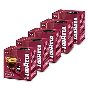 Lavazza A Modo Mio Intenso 16 Coffee Capsules (Pack of 5)