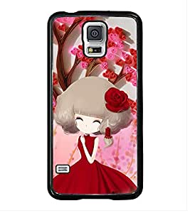 ifasho Designer Phone Back Case Cover Samsung Galaxy S5 :: Samsung Galaxy S5 G900I :: Samsung Galaxy S5 G900A G900F G900I G900M G900T G900W8 G900K ( Oil Painting Look Women )