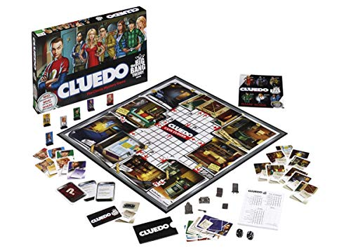 """Sheldon has been betrayed! Upon discovery of the inconsiderate and heinous deed, Sheldon sequesters six suspects and demands justice. Who did it, what they did, and where it occurred? Game comes complete with 6 custom items involved in the """"act of be..."""