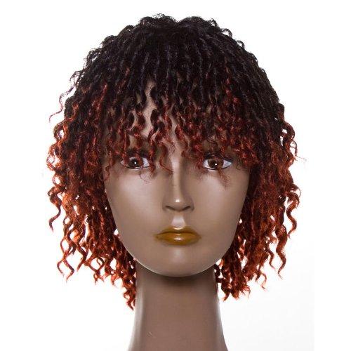 Dream Hair Wig Dolly : tt1b/350 cheveux synthétiques perruque court bouclés cheveux synthétiques)