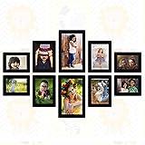 #5: Ajanta Royal Set of 10 Individual Photo Frames (4-4