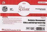 Shuchita Prakashan's Business Management Ethics & Entrepreneurship Solved Scanner for CS Foundation Paper 2 June 2018 Exam