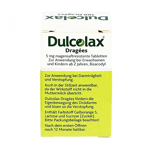 Dulcolax coated gastro-resistant 100 tablets