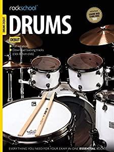 Rockschool Drums - Debut (2012-2018) (Backing tracks available only for download)