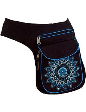 Stoff Sidebag & Gürteltasche, Goa Gürteltasche, Bauchtasche / Sidebags & Gürteltaschen