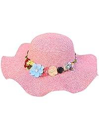 Staresen Sombrero Sombrero de Paja Playa Sombrero Gorro de Sol de Ocio al  Deporte Aire Libre 890ce94b41a
