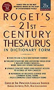 Roget's 21st Century Thesaurus, Third Edition (21st Century Refere