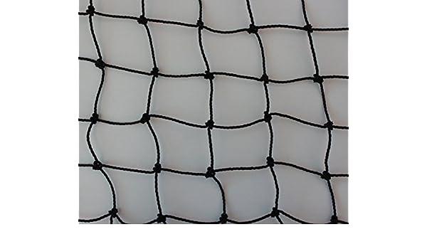 1,5 mm Gr/ö/ße Pieloba Gefl/ügelzaun Gefl/ügelnetz schwarz K/üken Masche 3 cm St/ärke 1,00 m x 60 m