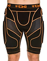 TSG Crash Pant D30, Black Orange