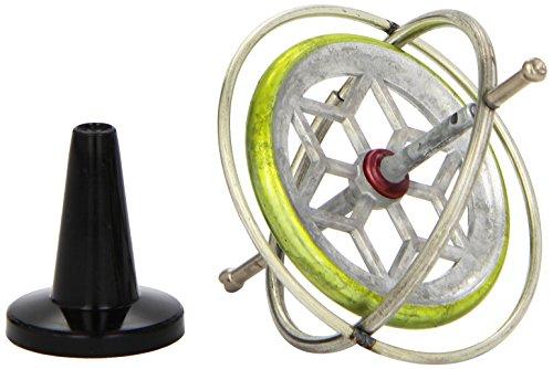 Gyroscope Rétro - Metal - 6.5 x 6.5 x 6.5 cm