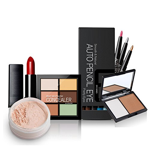 5-kits-de-maquillaje-cosmetico-lapiz-de-cejaslapiz-labial-rimel-delineador-de-ojos-sombras-de-ojos