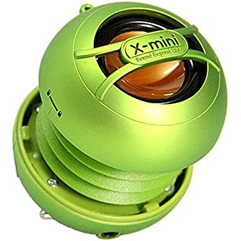 X-Mini Uno Portable Mini Speaker with 3.5mm Jack Compatible with iPhone/iPad/iPod/Smartphones/Tablets/MP3 Player/Laptop - Green