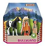 Bullyland 43309 - Yakari in Geschenk Box Spielfigurenset, 3 teilig