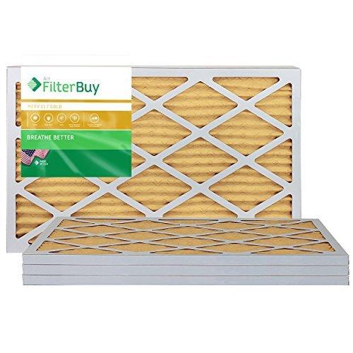 Ofen-air-hepa-filter (Ofen Filter/Air Filter–AFB Gold Merv 11(4Stück), AFB24x30x1M11pk4)