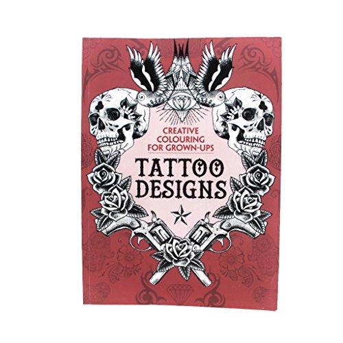 CUTICATE Tattoo Nachschlagewerk 126 Seiten Drachen Schädel Schlange Wolf Bild