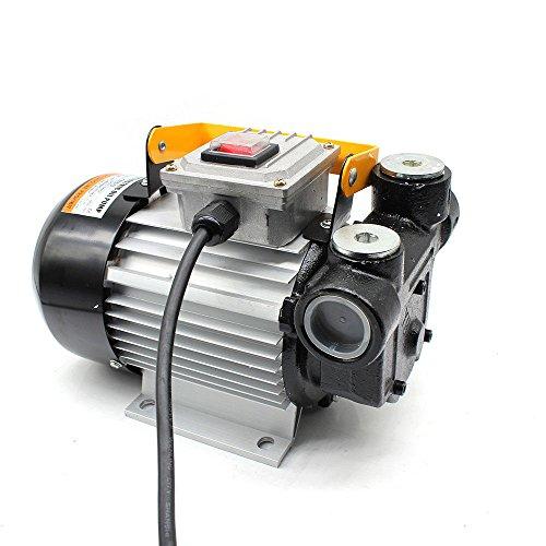 OUKANING - Pompa per olio combustibile diesel, auto-aspirante, 230 V, pompa di aspirazione dell'olio, 60 l/m