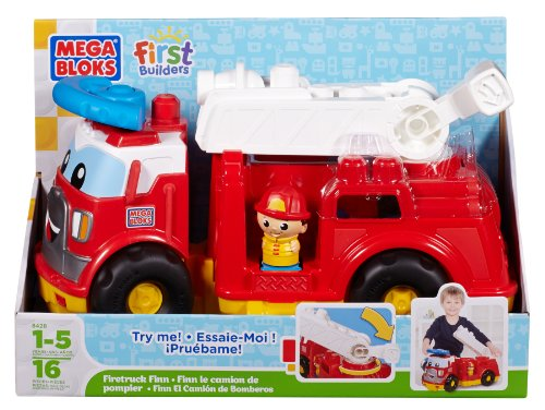 First Builders Mega Bloks 8428 Camión de bomberos