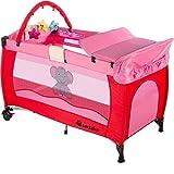 TecTake Kinder Reisebett pink