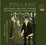 Mélodies sur des Poèmes de Guillaume Apollinaire