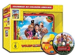 Lunch Box Edition: Wolkig mit Aussicht auf Fleischbällchen 1 und 2  (limitiert und exklusiv bei Amazon.de) [Blu-ray] [Limited Edition]