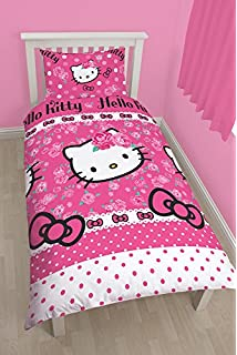 Parure housse couette HELLO KITTY dp BACFGFSY