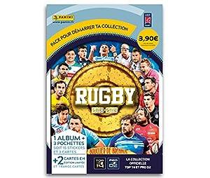 Panini 1álbum + 3Fundas, Rugby 2018-2019, 2421-014
