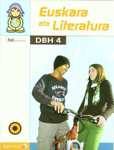 Euskara eta Literatura -DBH 4-: I.Bai proiektua