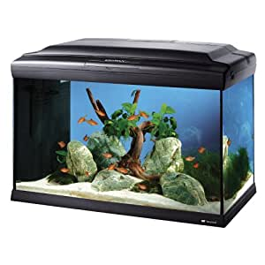Ferplast - Cayman 60 - Aquarium professionnel - Noir