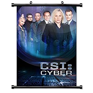 CSI Cyber TV Show Fabric Wall Scroll Poster (16 x 23) Inches