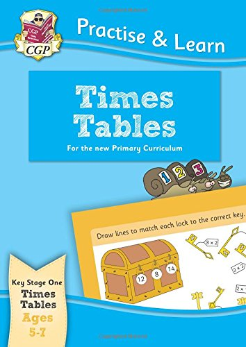 Practise & Learn: Times Tables (Ages 5-7) Cover Image