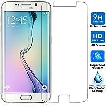 Protector Pantalla SAMSUNG GALAXY S6 EDGE PLUS Cristal Vidrio Templado Premium, Electrónica Rey®