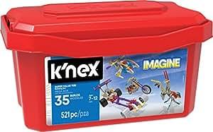 K Nex 12575 Super Value Tub Building Set 521 Piece