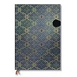 Seidenpracht Blau - Notizbuch Grande Unliniert - Paperblanks