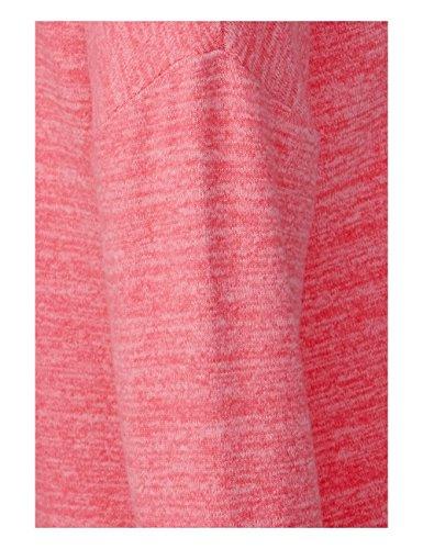 Street One Maglietta a Maniche Lunghe Donna Rosa (Colada Pink Melange 11265)