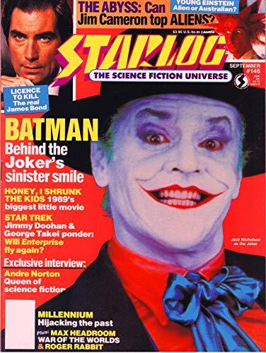Starlog Magazine The Sci Fi Comics: September 1989 (English Edition)