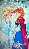 Disney Frozen Ann und Elsa Strand Bad Handtuch 100% Baumwolle