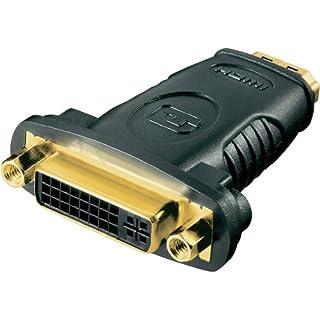 HDMI DVI Adapter al kabelshop DVI Buchse auf HDMI Stecker (gerade)