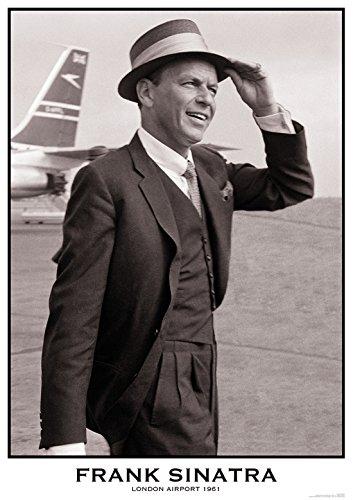 Sinatra Poster Frank (Frank Sinatra / Airport Poster Drucken (60,96 x 91,44 cm))