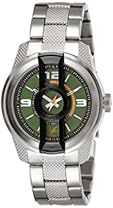Fastrack Analog Green Dial Men's Watch - 3152KM02