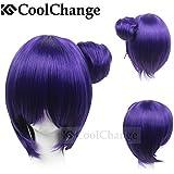 CoolChange peluca de Akatsuki Konan de la serie Naruto, negra