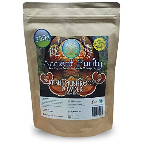 Reishi Mushroom Ground Powder - 250g (Medicinal Mushroom)