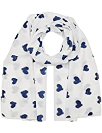 Molly Bracken BC248E17, Foulard Femme, Blanc (White), Taille Unique (Taille Fabricant: TU)