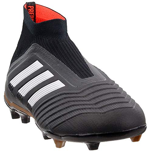 adidas Youth Predator 18+ Fg Firm Ground Soccer Cleats Black/Gold 5.5 -